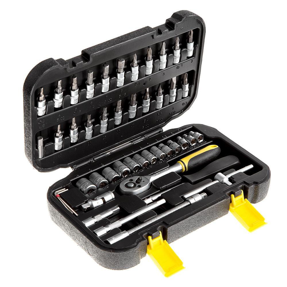Набор инструментов Stayer 27760-h46 набор отверточный stayer master techno 46шт 25084 h46