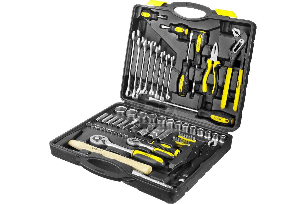 универсальный автомобильный набор инструментов для ремонта автомобиля STAYER 27760-H72