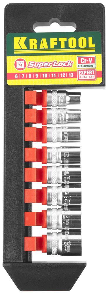 Набор головок Kraftool 27860-h8_z01 плоская кисть kraftool klassik 1 01013 25