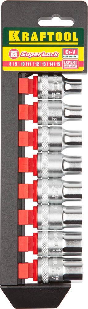 Набор головок Kraftool 27863-h8_z01 плоская кисть kraftool klassik 1 01013 25
