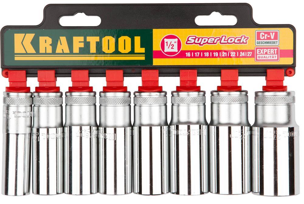 Набор головок Kraftool 27865-h8_z01 плоская кисть kraftool klassik 1 01013 25