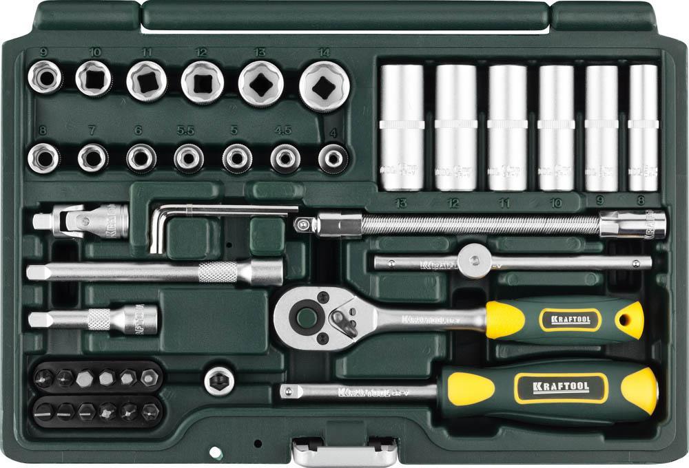 Набор инструментов Kraftool Expert qualitat 27885-h42_z02 набор инструментов kraftool 66 предметов expert 27976 h66