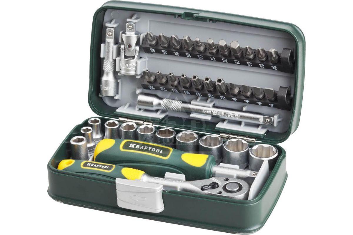 Набор слесарно-монтажного инструмента KRAFTOOL INDUSTRIE 27970-H38