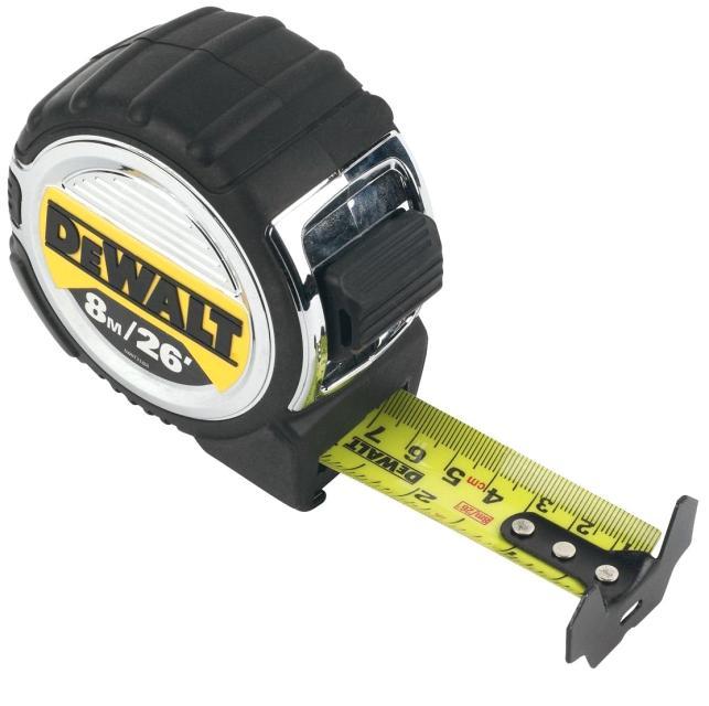 Рулетка Dewalt Dwht033662 набор stanley ушм болгарка stgs7115 b9 рулетка dwht033662