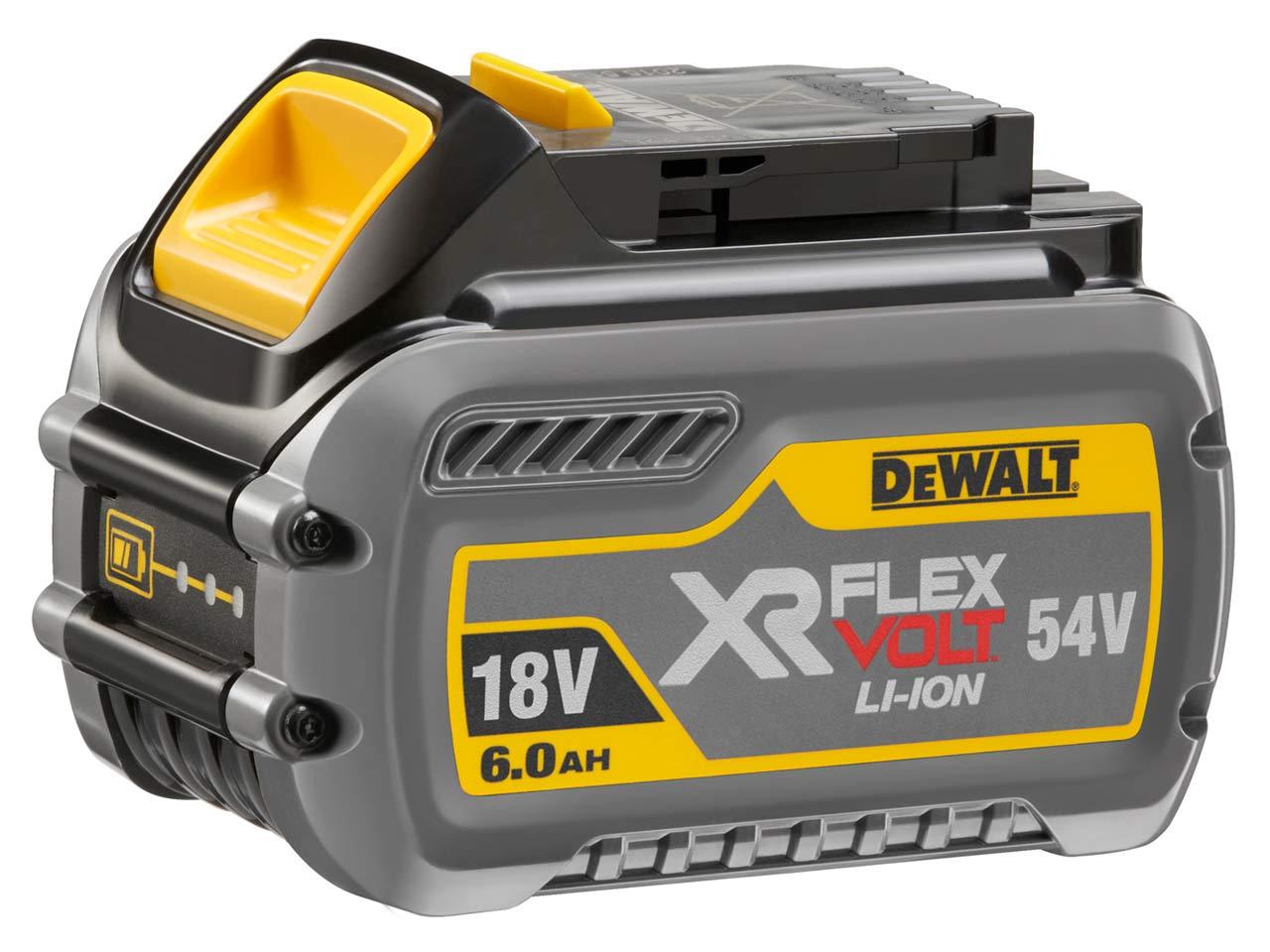 Аккумулятор Dewalt 54/18В 2/6Ач li-ion (dcb546-xj 54 В xr flexvolt) аккумулятор dewalt 18в 1 5ач li ion 0 36кг xr серия dcb 181