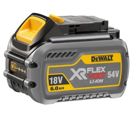 Аккумулятор DEWALT 54/18В 2/6Ач Li-Ion (DCB546 XR FLEXVOLT)