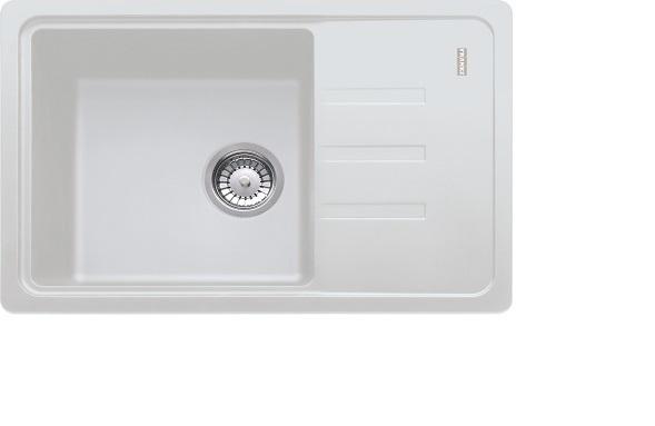цена Мойка кухонная Franke Bsg611-62 белый онлайн в 2017 году