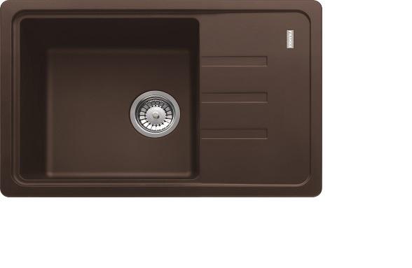 цена Мойка кухонная Franke Bsg611-62 шоколад онлайн в 2017 году