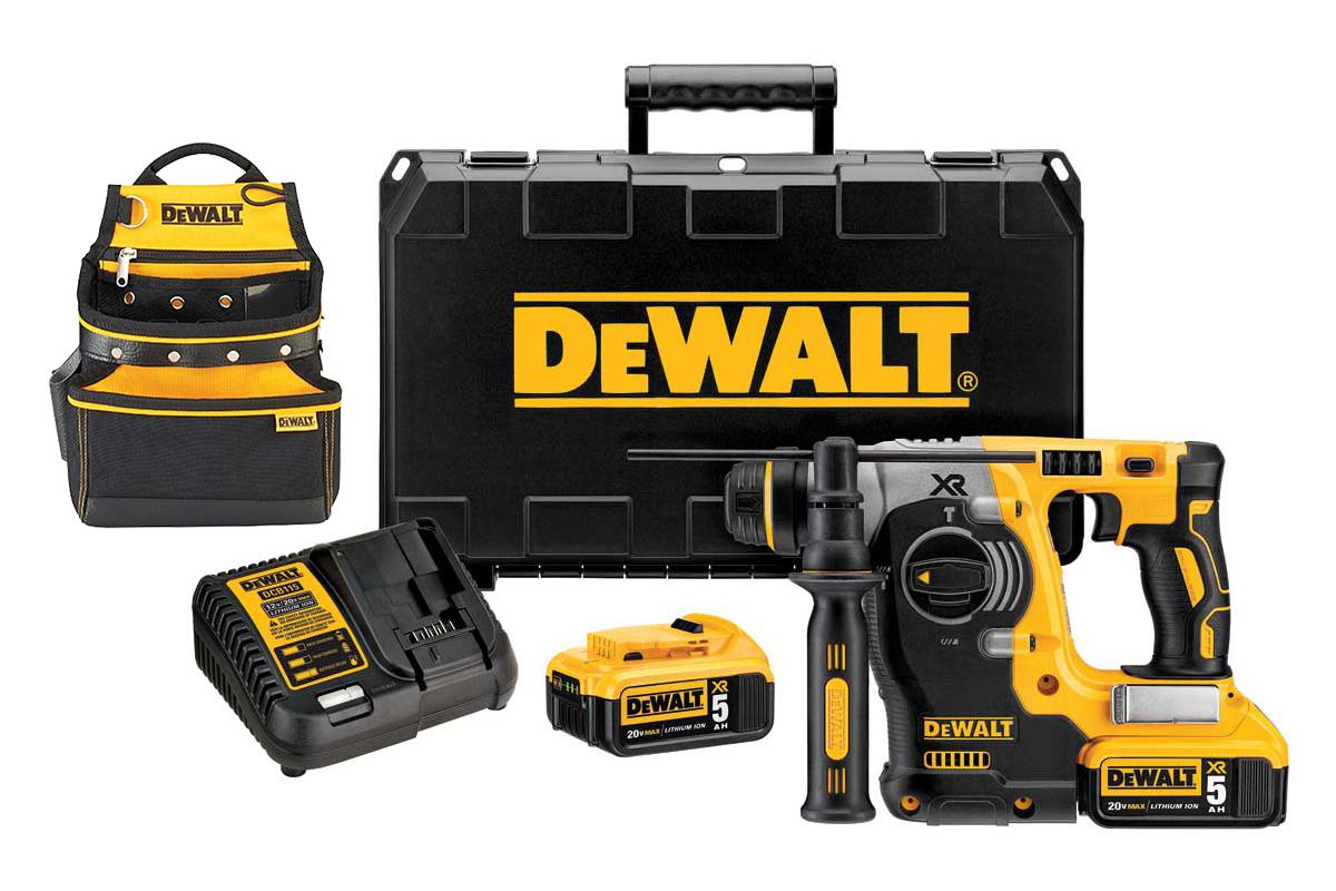 Набор Dewalt перфоратор dch273p2 + сумка для инструмента dwst1-75551 270х120х340мм