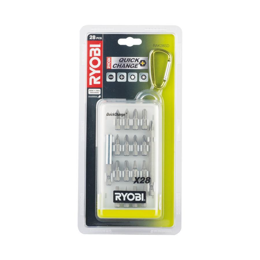 Набор бит Ryobi Rak28sd набор инструментов ryobi r18ck4a ll99s