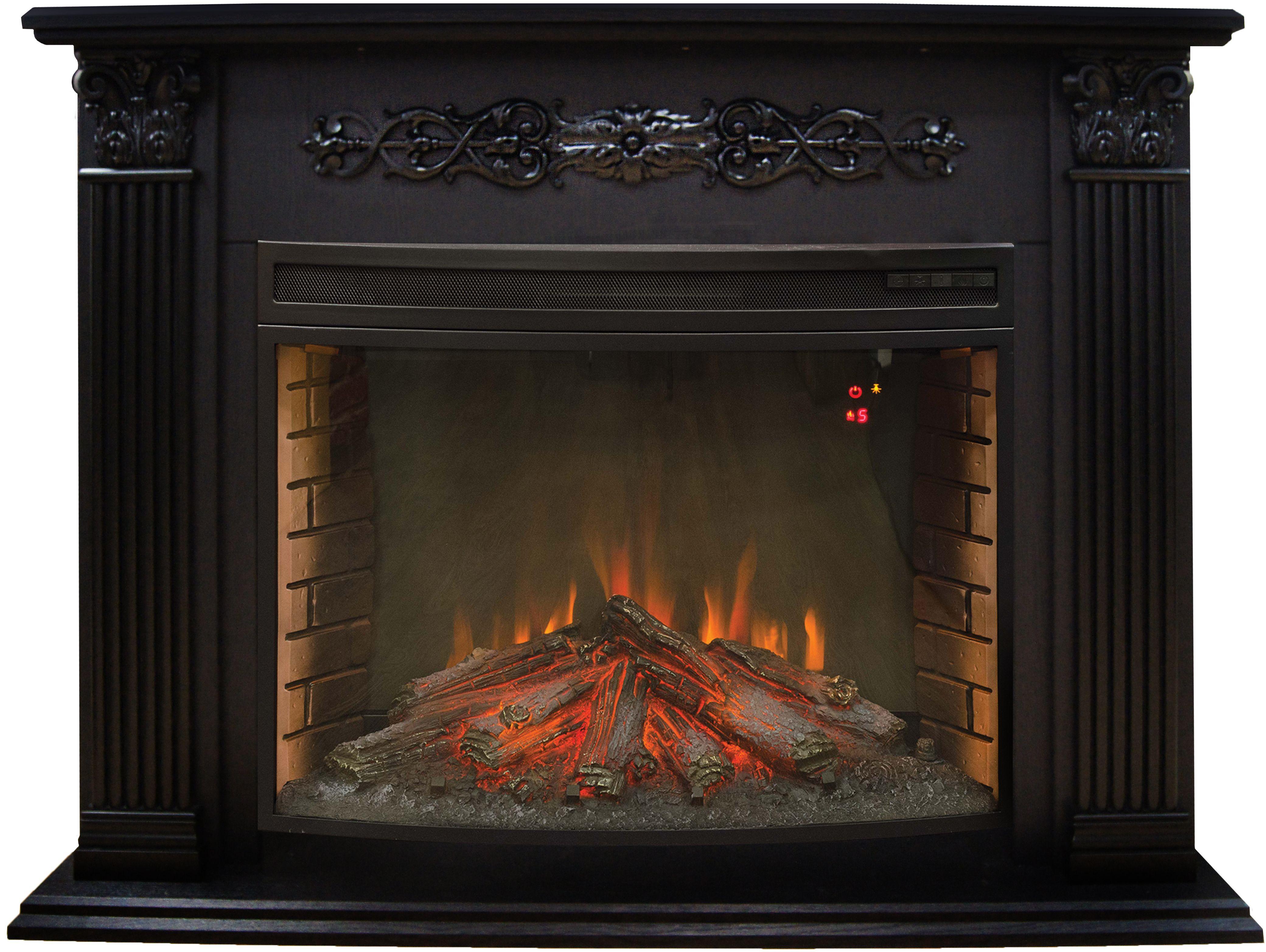 Электрокамин Real flame Milton 33 dn + firespace 33 s ir