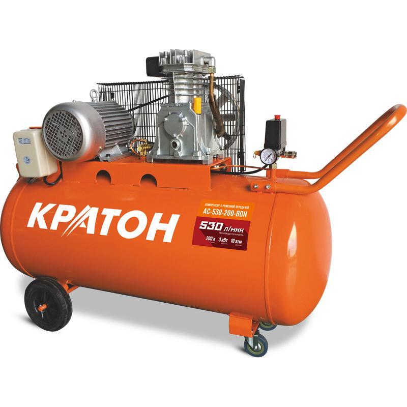Компрессор КРАТОН Ac-530-200-bdh поршневой компрессор кратон ac 630 110