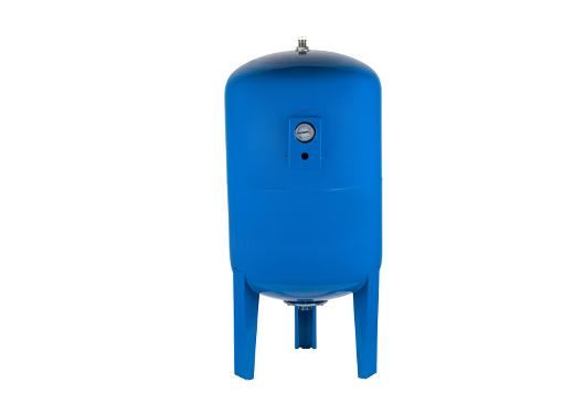 Гидроаккумулятор UNIPUMP 300 л вертикальный, с манометром (66837)
