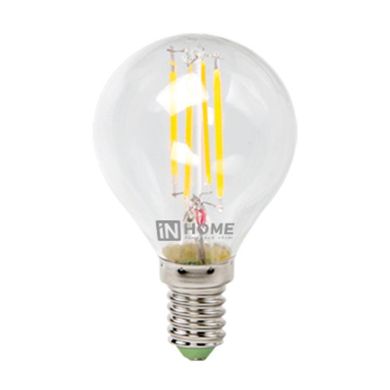 Лампа светодиодная Asd In home led-ШАР-deco 5Вт 230В Е14 3000К deco home стол трансформер