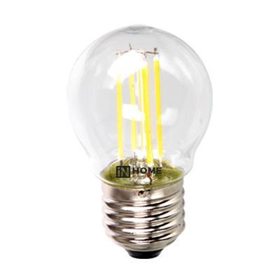 Лампа светодиодная Asd In home led-ШАР-deco 5Вт 230В Е27 4000К deco home стол трансформер