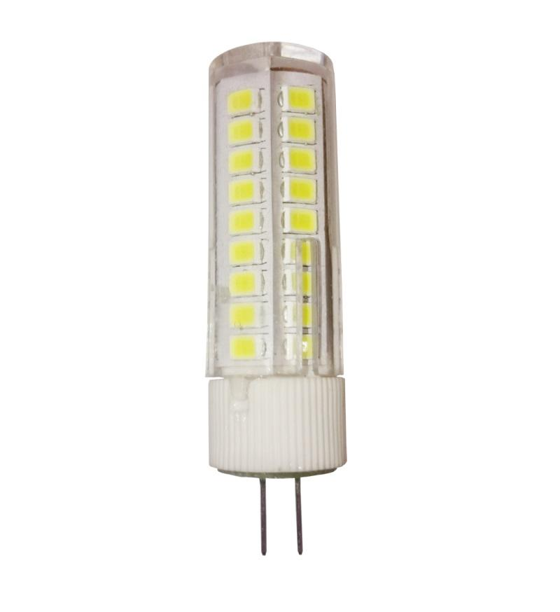 Лампа светодиодная Asd Led-jc-standard 5Вт 12В g4 4000К лампа светодиодная asd led свеча standard 7 5вт 160 260в е14 4000к