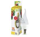 Лампа светодиодная ASD LED-СВЕЧА НА ВЕТРУ-standard 3.5Вт 230В Е14 3000К