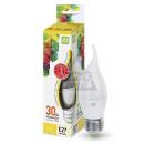 Лампа светодиодная ASD LED-СВЕЧА НА ВЕТРУ-standard 3.5Вт 230В Е27 3000К