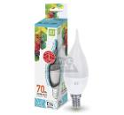 Лампа светодиодная ASD LED-СВЕЧА НА ВЕТРУ-standard 7.5Вт 230В Е14 4000К