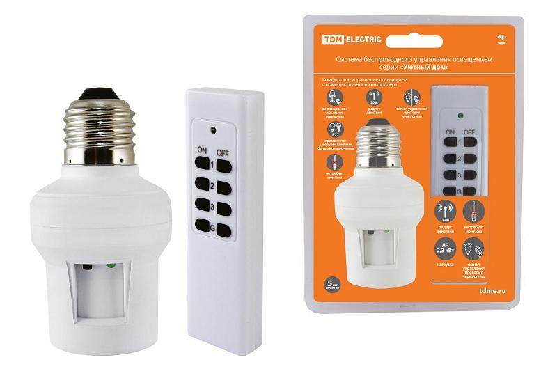 Комплект для беспроводного управления освещением Tdm Sq1508-0201