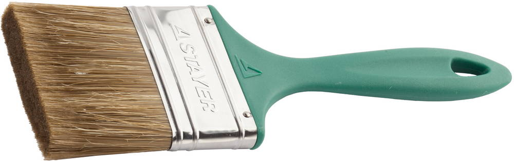 Кисть плоская Stayer 01081-75 кисть klassik плоская смешанная щетина 50мм kraftool 1 01012 50