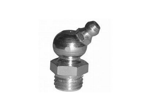 Угловая пресс-масленка БелАК (БЕЛАВТОКОМПЛЕКТ) M8х1 45 градусов (БАК.00084) 150 шт