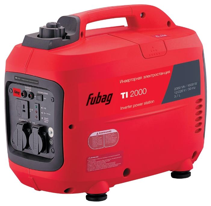 Бензиновый генератор Fubag Ti 2000 бензиновый генератор fubag ti 1000