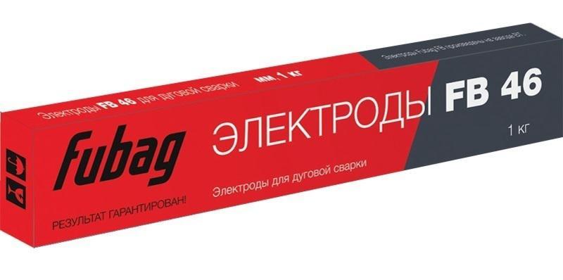 Электроды для сварки Fubag Fb 46 d4.0 станок камнерезный fubag fb 350