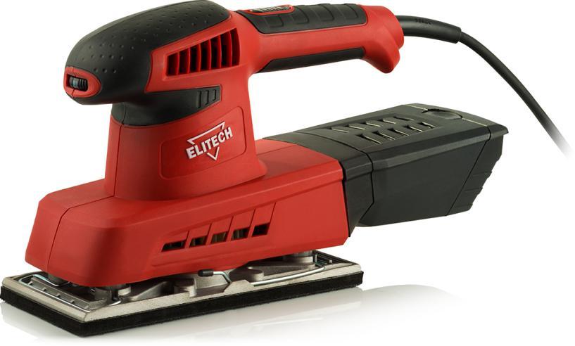 Машинка шлифовальная плоская (вибрационная) Elitech 0319Э машинка шлифовальная плоская вибрационная bosch gss 23 ae 0 601 070 721