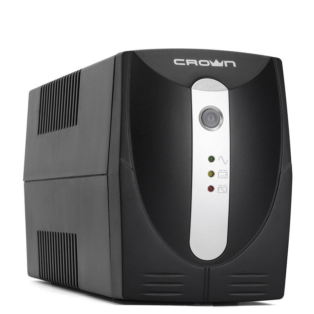 Источник бесперебойного питания Crown Cmu-500xiec crown cbt 12 9 2 аккумулятор для ибп