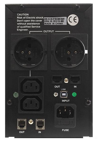 Источник бесперебойного питания Crown 1200va (cmu-sp1200 combo smart)