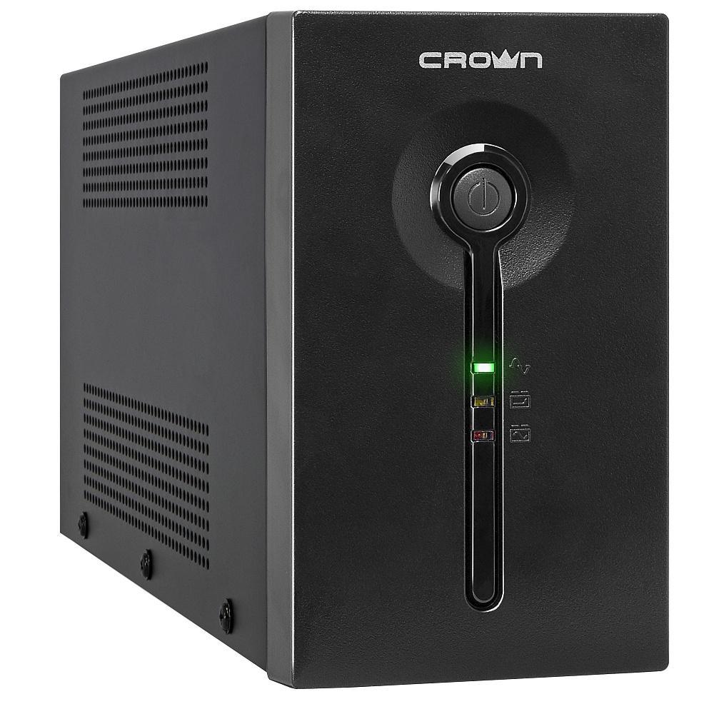 Источник бесперебойного питания Crown 650va (cmu-sp650euro) crown micro cmu 650x 650va 300w ибп