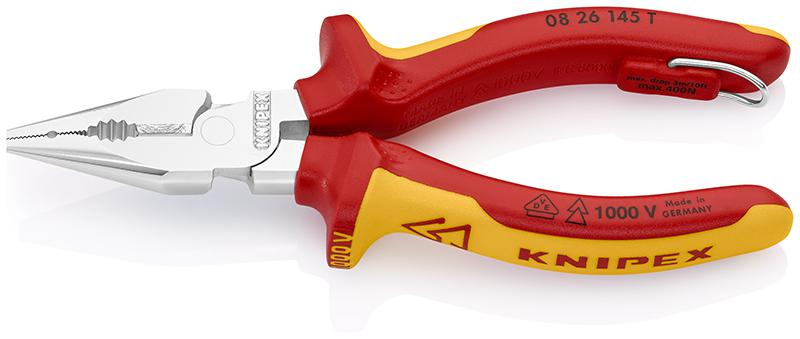 Пассатижи Knipex Kn-0826145t пассатижи knipex kn 0306180