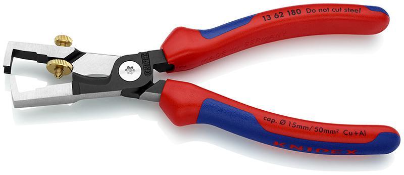 Щипцы для зачистки электропроводов Knipex Kn-1362180 комбинированные ножницы knipex kn 9505185