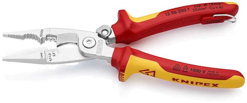 Щипцы для зачистки электропроводов Knipex Kn-1396200t щипцы для зачистки электропроводов knipex kn 1106160t