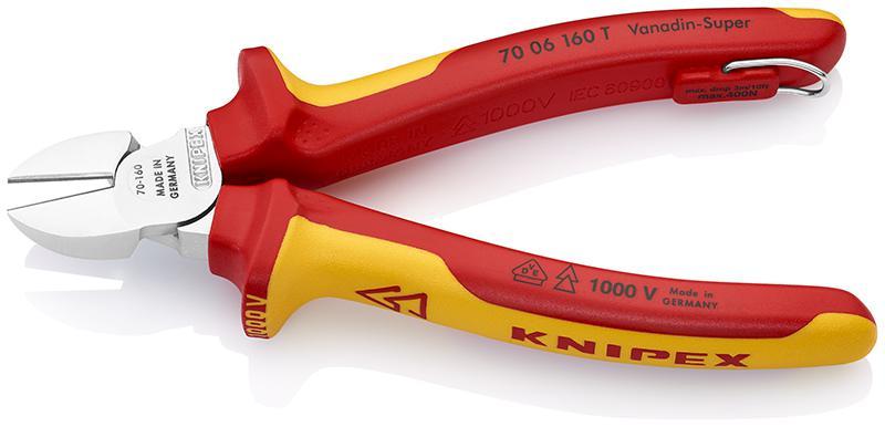 Бокорезы Knipex Kn-7006160t бокорезы knipex kn 7006160
