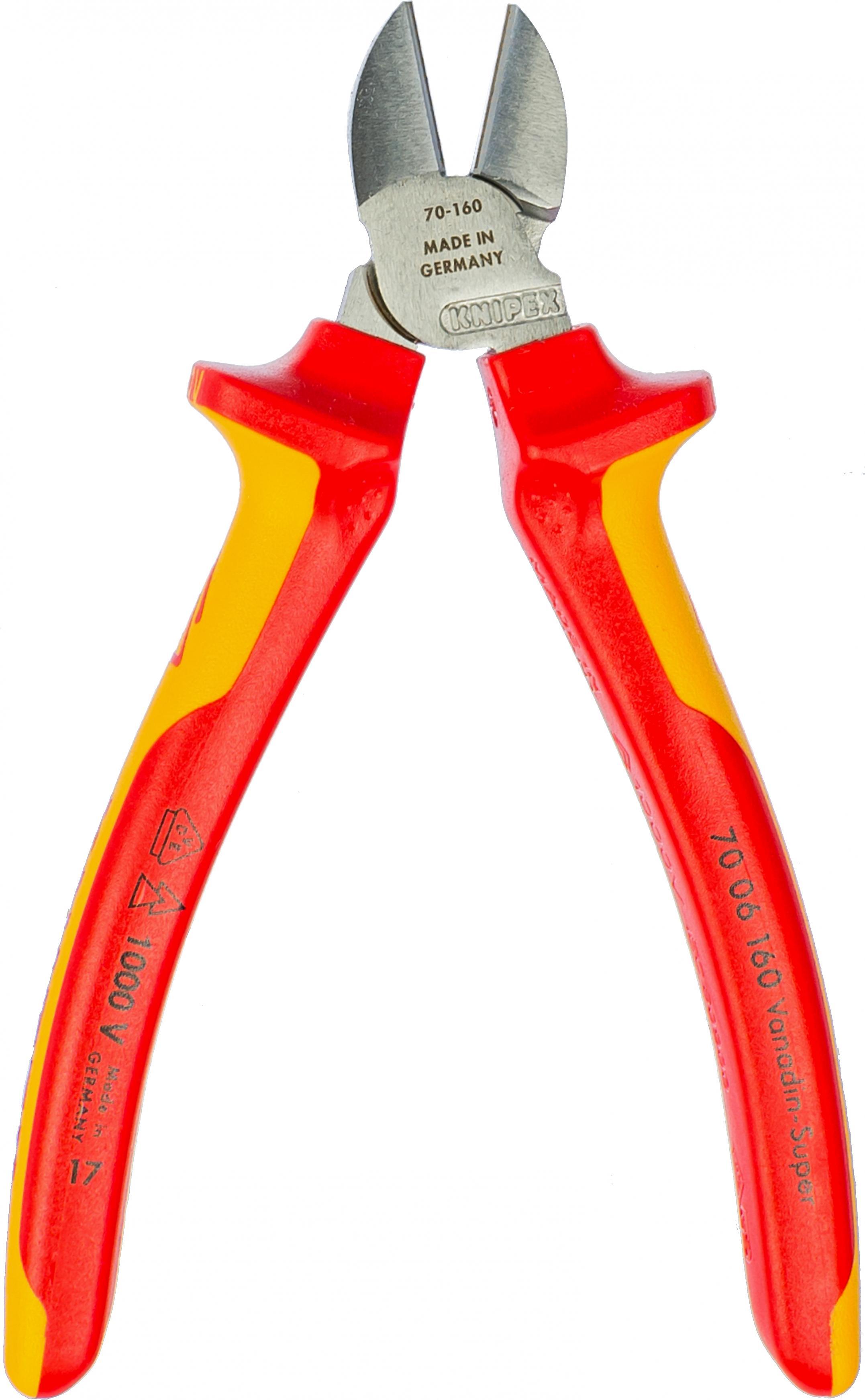 Бокорезы Knipex Kn-7006160tbk бокорезы knipex kn 7006160