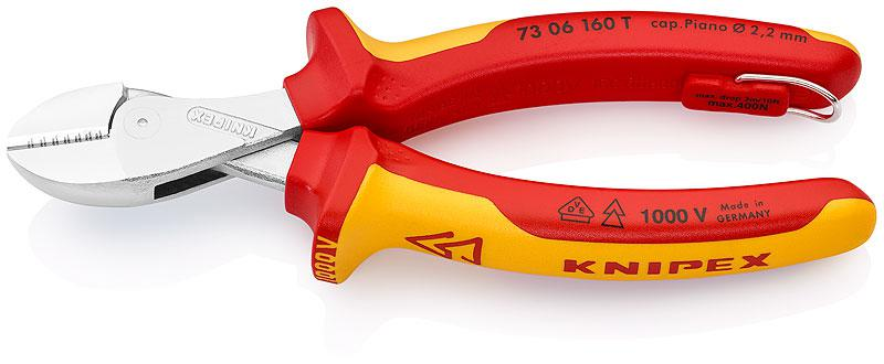 Бокорезы Knipex Kn-7306160t бокорезы диэлектрические knipex kn 7306160