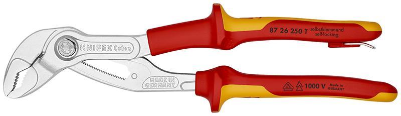 Клещи Knipex Kn-8726250t монтажные клещи knipex kn 4510170