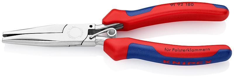 Утконосы Knipex Kn-9192180 длинногубцы с резцом knipex kn 2505140
