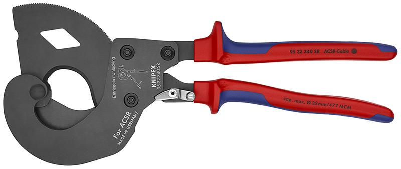 Кабелерез Knipex Kn-9532340sr пассатижи knipex kn 0826145tbk