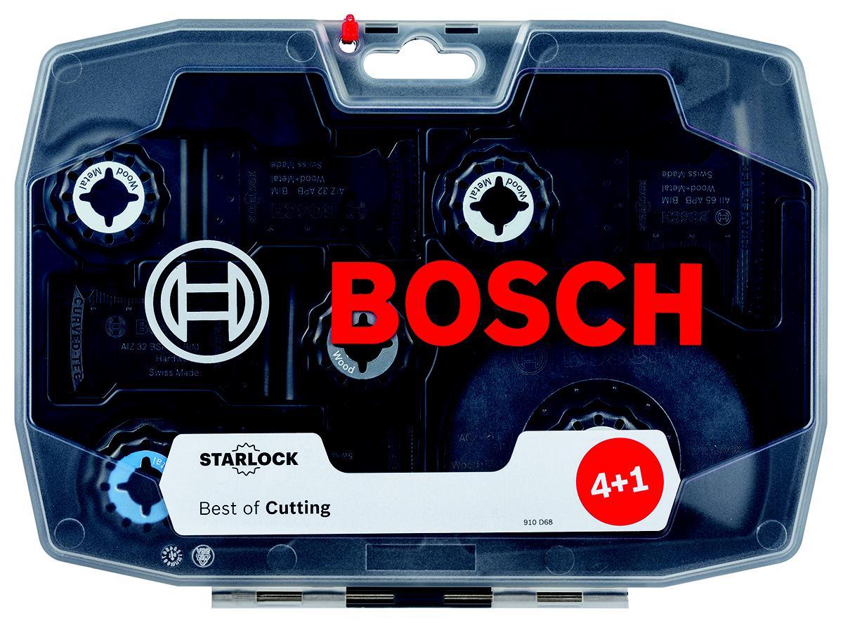 Набор насадок для МФИ Bosch 2608664131 насадка для кухонного комбайна bosch muz8cc2