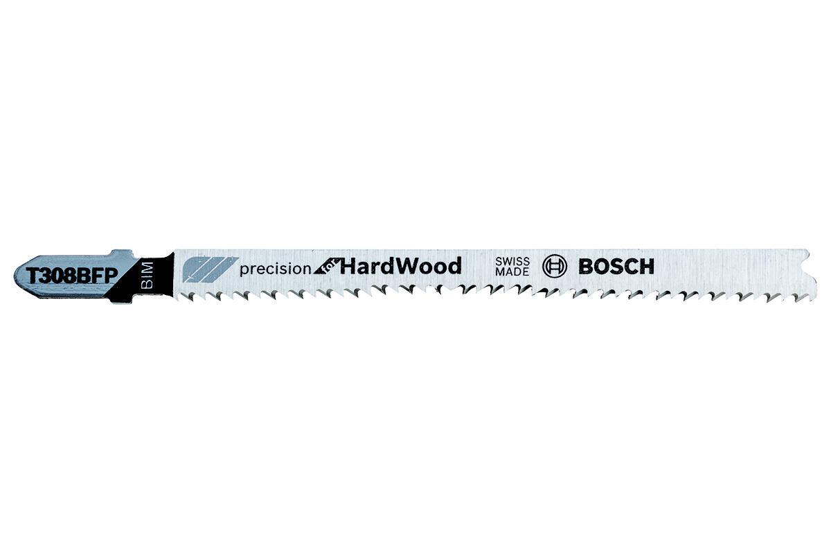 Набор пилок Bosch 2608636928 пилки для лобзика по металлу для прямых пропилов bosch t118a 1 3 мм 5 шт