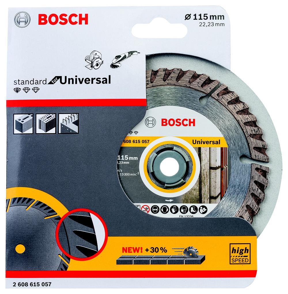 Круг алмазный Bosch 2608615057 диск алмазный diam 150х22 2мм master турбо 000160