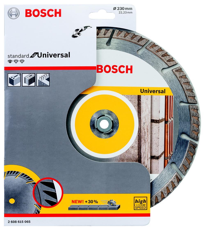 Круг алмазный Bosch 2608615065 диск алмазный universal 230х22 2 мм bosch 2608615065