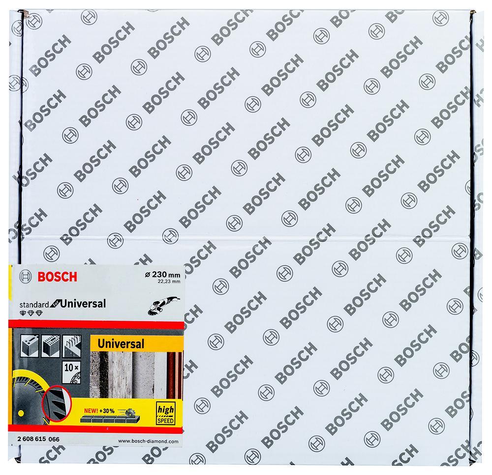 Круг алмазный Bosch 2608615066 круг алмазный практика 030 757 da 230 22t 230 х 22 турбо