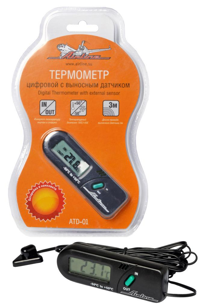 Термометр Airline Atd-01 dhl ems 2 sets brand new for omron temperature controller e5cc rx2dsm 800 24vac dc