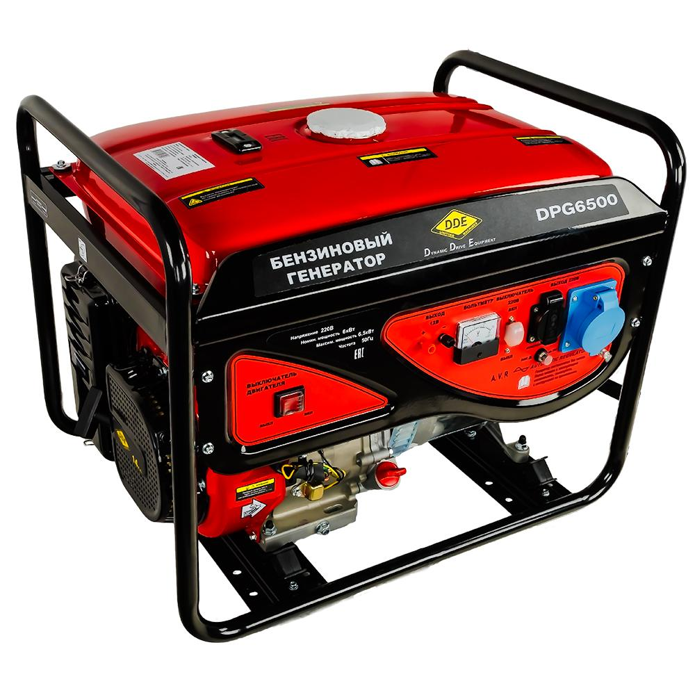 Бензиновый генератор Dde Dpg6500 цена и фото