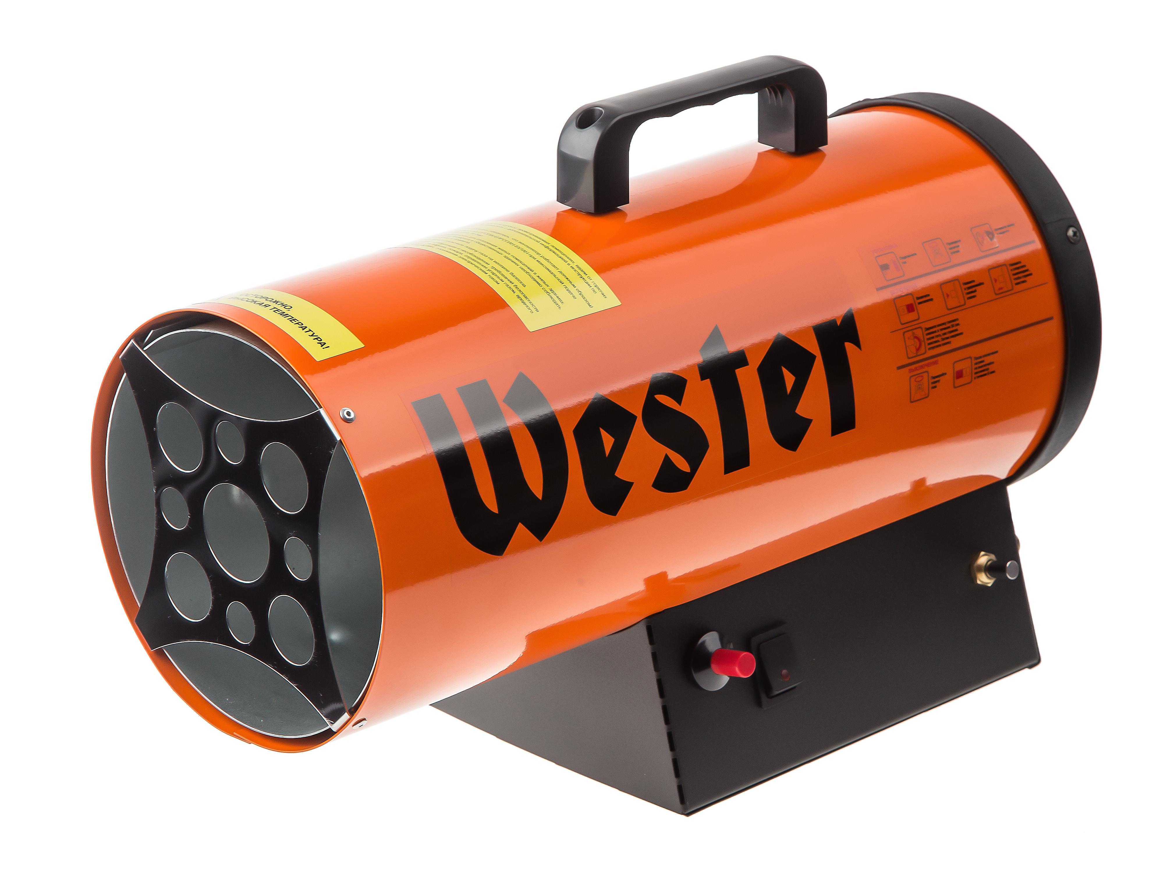 все цены на Тепловая пушка Wester Tg-12 газовая онлайн