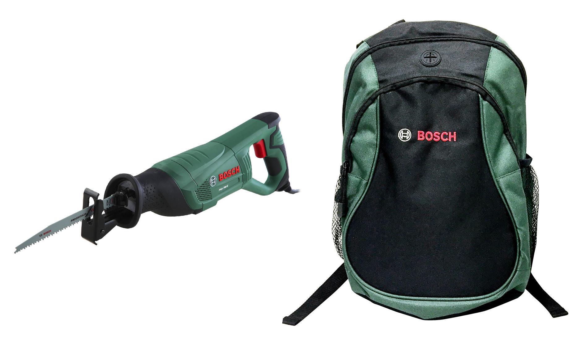 цена на Набор Bosch Ножовка psa 700 e (06033a7020) + рюкзак green (1619g45200)